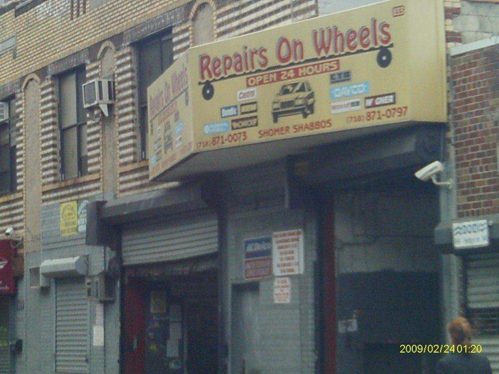 Repairs On Wheels in Brooklyn New York