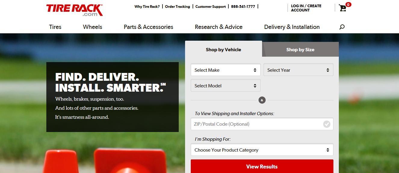 TireRack.com Tires (Cheap Tires + Top Notch Customer Service)