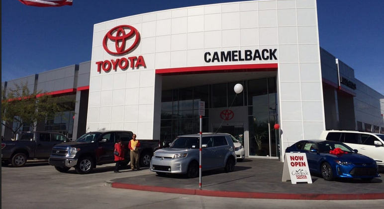 Camelback Toyota Car Dealers Phoenix AZ Arizona