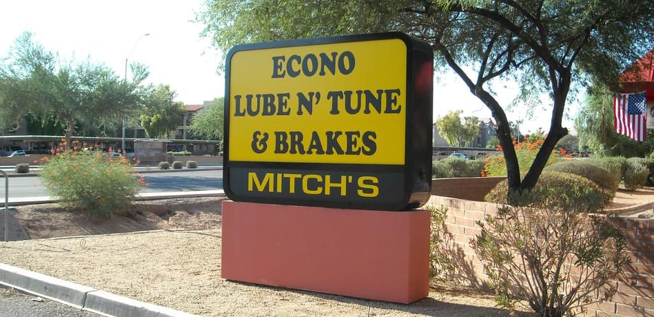 Econo Lube N' Tune Auto Repair Phoenix AZ Arizona